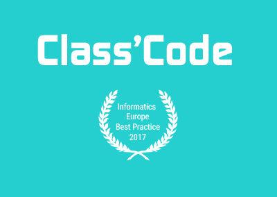 Class'code : réseau et ressources de formation à la pensée informatique